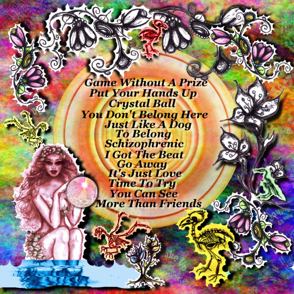 Back Cover Album Artwork by Sherry Dahlen